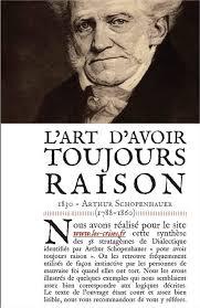 AutoDéfense Intellectuelle] L'art d'avoir toujours raison, d'après  Schopenhauer